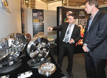 Extec at the Essen tradeshow in Germany